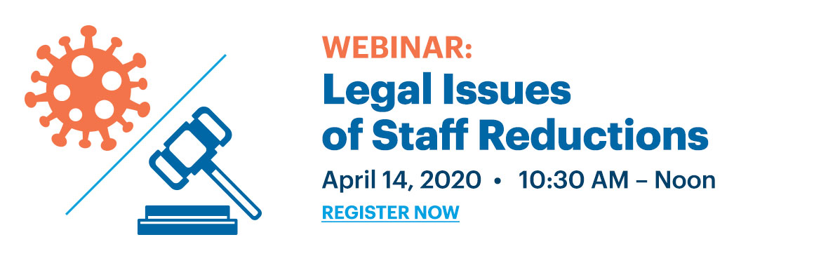 Legal Issues of Staff Reduction COVID-19
